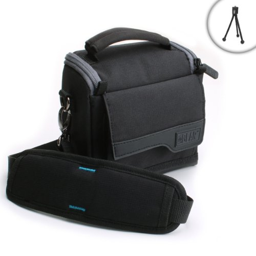 Lightweight Travel Medium Camera Bag with Adjustable Padded