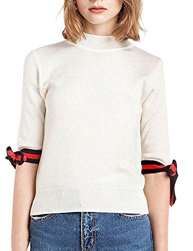 Bow Sleeve Sweater - 2