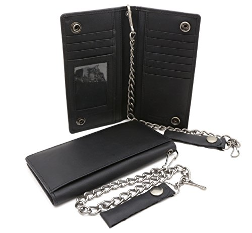 Bifold Genuine Leather Checkbook Holder product image
