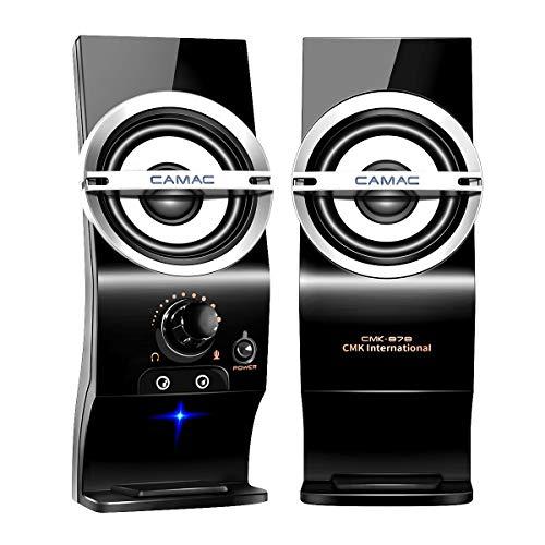 [해외]CAMAC PC 스피커 USB 스피커 컴퓨터텔레비전헤매고 적용 고음질 speaker / CAMAC PC Speaker USB Speaker PC  TV  Smartphone Application High Quality Speaker