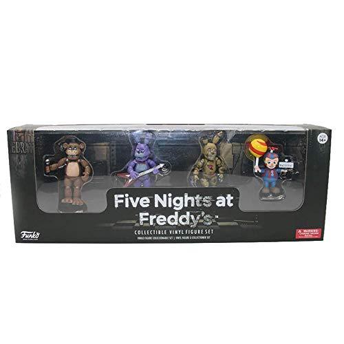 4pcs/lot FNAF PVC Action Figures 5cm Five Nights at Freddy's Bonnie Foxy Freddy Bear Dolls Anime Game Toys Gift for Kids 4 Pcs FNAF - Pvc Figure Bear