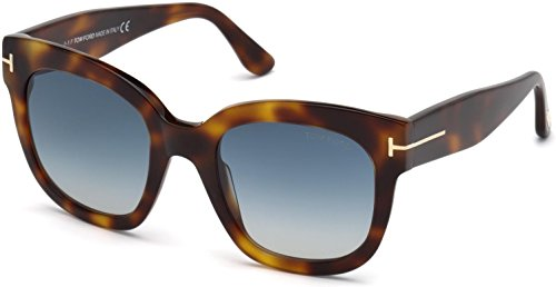 Sunglasses Tom Ford FT 0613 Beatrix- 02 53W blonde havana/gradient blue