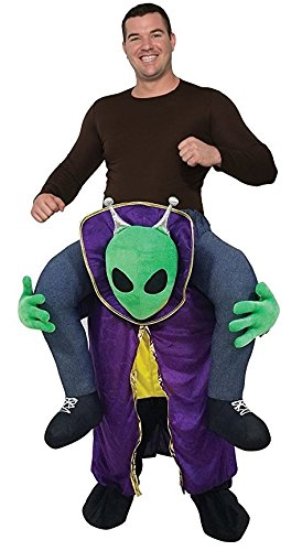 Aliens Halloween Costumes (Forum Men's Ride-an-Alien Deluxe Costume, As Shown, OS)