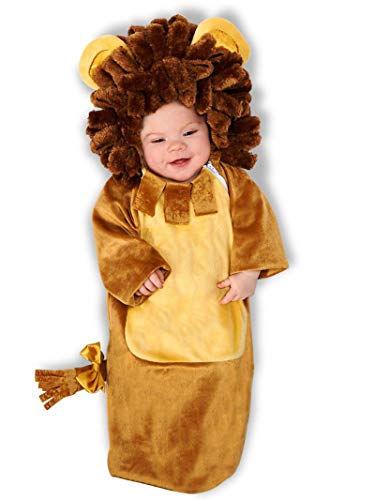 Cuddly Lion Infant Bunting, Multi-colored, Newborn