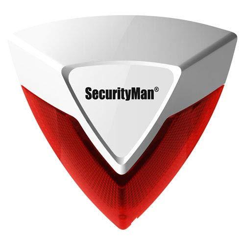 SecurityMan Wireless Indoor Siren, SM-005SR (SM-005SR)