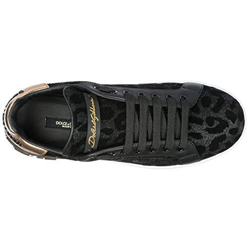 De Zapatos Deporte Zapatillas Mujer Dolce Negro Nuevo amp;gabbana 4FqxwAOA