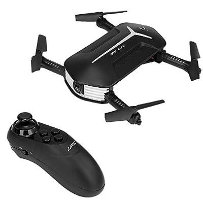 JJRC H37 Mini BABY ELFIE WIFI FPV 720P Camera Quadcopter Foldable G-sensor Mini RC Selfie Drone by Redpawz