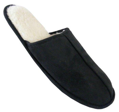 Footwear Studio - Zuecos para hombre negro negro