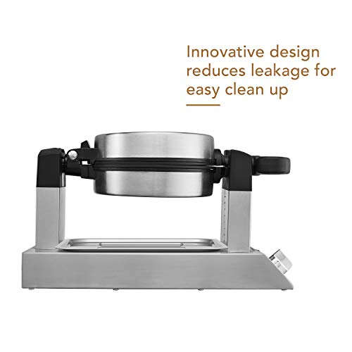 CHEF-BUILT (CWM-300) Commercial Rotating Classic Waffle Maker  by CHEF-BUILT (Image #3)