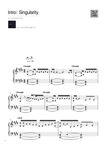 SM YANG's Piano Collection for BTS: Love Yourself LY 轉