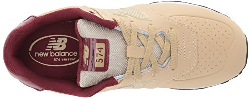 Chip Pack New Kids' Paint KL574V1 Sneaker Balance Burgundy Tan rcqIqvX