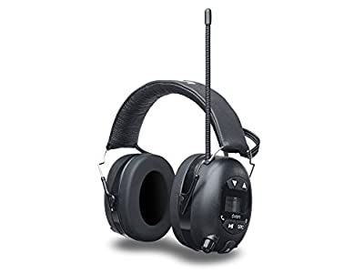 Ion Audio Tough Sounds Hearing Protection Headphones with Bluetooth and Radio from Ion Audio - MI