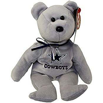 Amazon.com  NFL Dallas Cowboys TY Beanie Baby Teddy Bear Plush 8.5 ... 90066663f