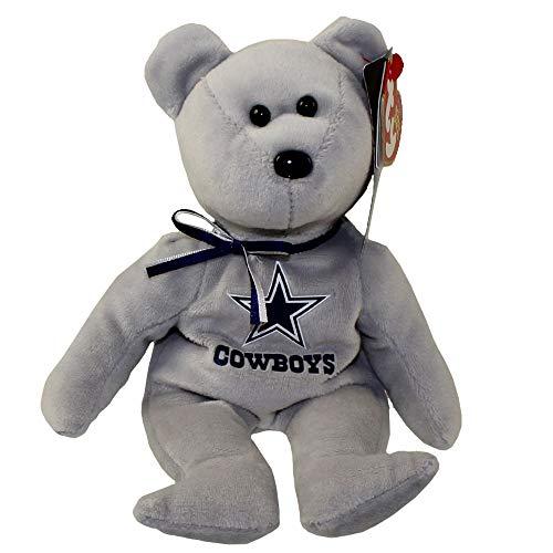 - NFL Dallas Cowboys TY Beanie Baby Teddy Bear Plush 8.5