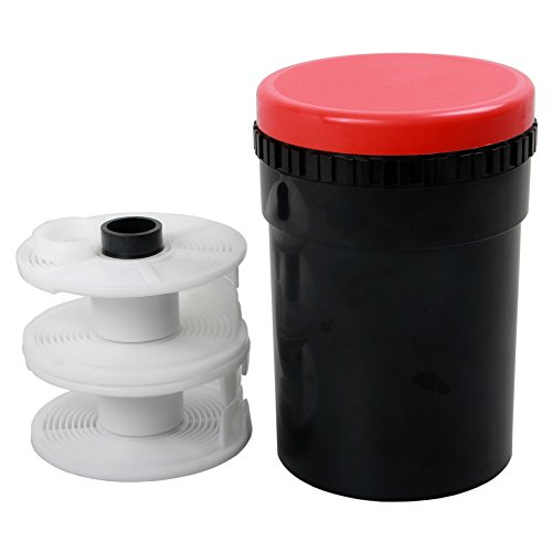 Compact Developing Tank 2 Spiral Reel for Processing 120 135 126 127 B/W -