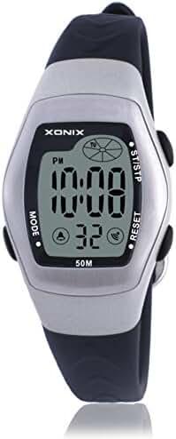 RetroLEDDigital multi-function watch/Waterproof swim girls digital watch-E