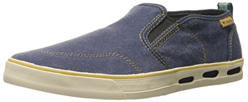 Columbia Mens Vulc N Vent Casual Shoe Night / Banana Scura