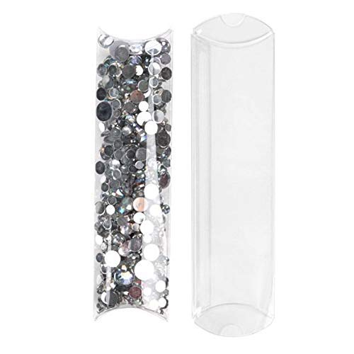 2 Favor Boxes Piece - ClearBags 2 x 3/4 x 7 Crystal Clear Pillow Boxes (No Hanger) | 25 Pieces | Cute Party Favor Craft Gift Boxes | Wedding Baby Shower Candy Box | Birthday Party Supplies | Multiple Sizes | PB101NH