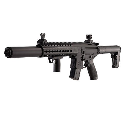 Sig Sauer MCX .177 CAL 88GR Co2 Powered (30 Rounds) Air Rifle, (Co2 Powered Pellet Gun)