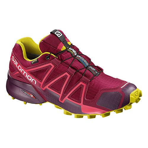 Scarpe Purple 4 Speedcross Salomon Donna Running Da Gtx Trail 1H4Wwaqt