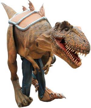 Disfraz de dinosaurio profesional flexible para adultos de MY ...