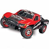 Traxxas 68086-3 1 10 Slash 4X4 4WD Electric SC RTR Vehicle - Colors Vary
