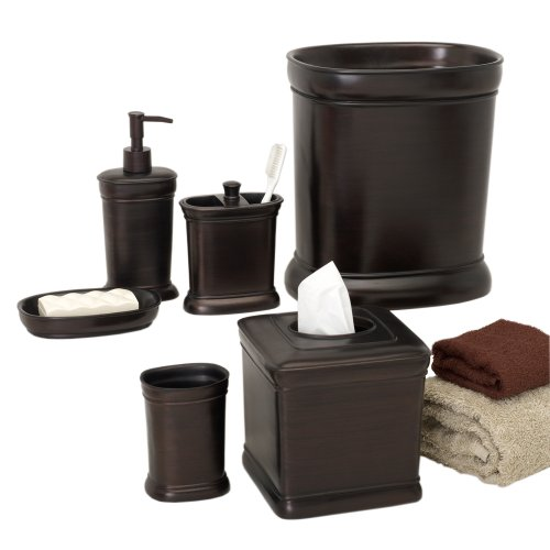 Zenna home india ink marion tissue box cover oil rubbed bronze buy online in uae misc - Bathroom accessories dubai ...