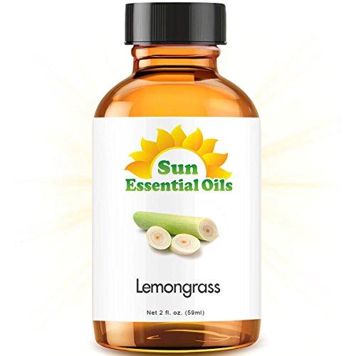 Lemongrass (2 fl oz) Best Essential Oil - 2 ounces (59ml)