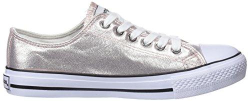 Conguitos Mädchen Basquet Metalizado Sneakers Pink