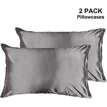 Amazon Com Blissy Silk Pillowcase 2 Pcs Set Duerer Two