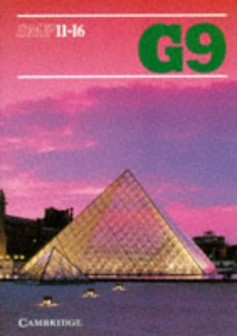 SMP 11-16 Book G9 (School Mathematics Project 11-16)