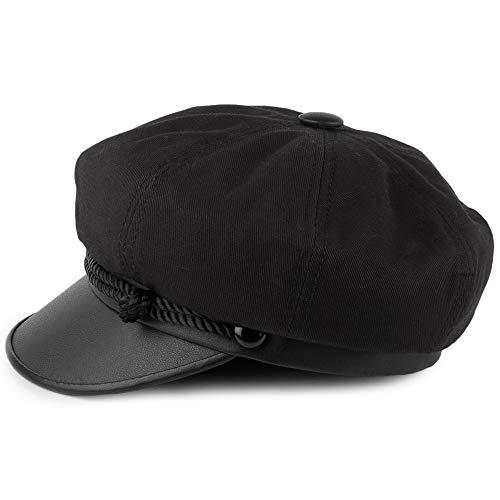 York Gorra Hat Co Negro Canvas HU8gn8Swq
