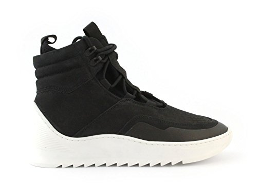 Sneaker FILLING PIECES MID ALTITUDE HEEL CAP tech black Taglia 43 - Colore NERO