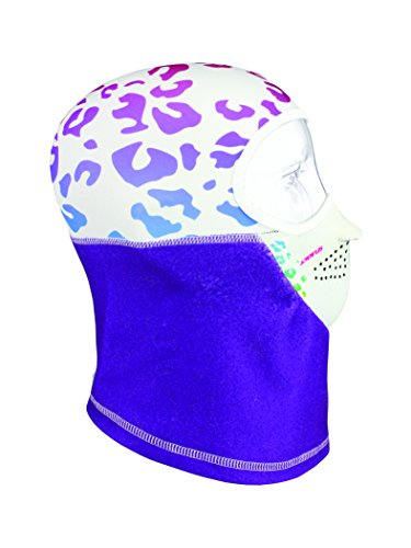- Seirus Innovation Junior Combo Micro Headliner Balaclava Headwear, One Size, Leopard-Purple