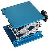 OESS Lift Table Lab Stand Lifter Scientific Scissor Lifting Jack Platform 6''X 6'' Aluminium Oxide