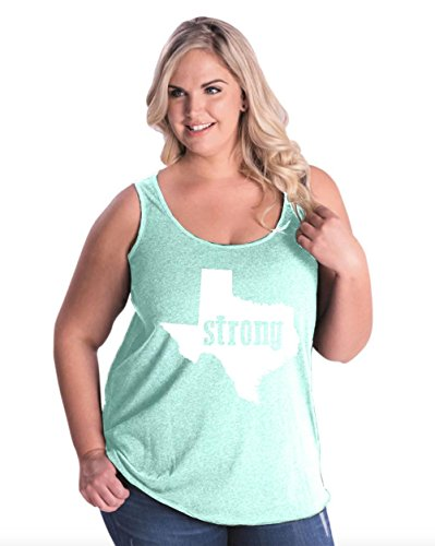 NIB Texas Tank Top Strong Texas Home Of Texas State University and Bobcats Women's Plus Size Tank Tops (University Of Texas Halloween Party)