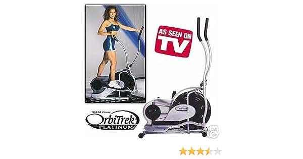 Amazon.com : The OrbiTrek Platinum Elliptical Trainer : Sports & Outdoors