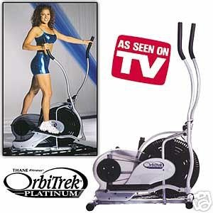 The OrbiTrek Platinum Elliptical Trainer