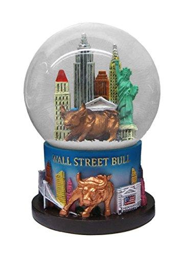 New York Wall Street Bull Snow Globe 65mm