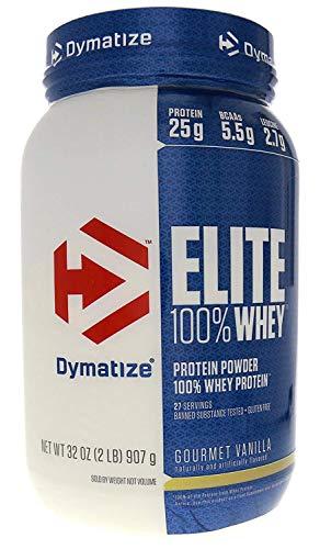Dymatize Elite 100% Whey Protein Gourmet Vanilla -- 2 lbs