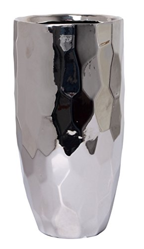 Ideal Gift for Weddings Spa Flower Arrangements O9 Hosley Ceramic Honeycomb Vase 7.5 Inch High