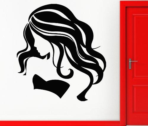 Hot Sexy Girl Beauty Hair Spa Salon Mural Wall Art Decor Vinyl Sticker z608