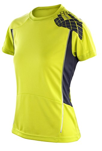 Result Training Funktionsshirt S176F, Farbe:Neon Lime/Grey;Größe:S