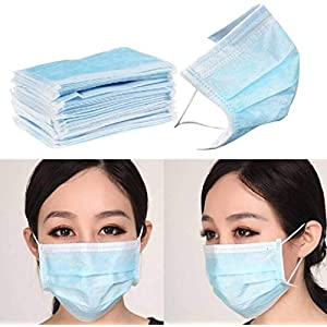 SHOPMENT Disposable Air Pollution & Protection Mask Face Mask Nose Mask Dust Mask surgical mask (50)