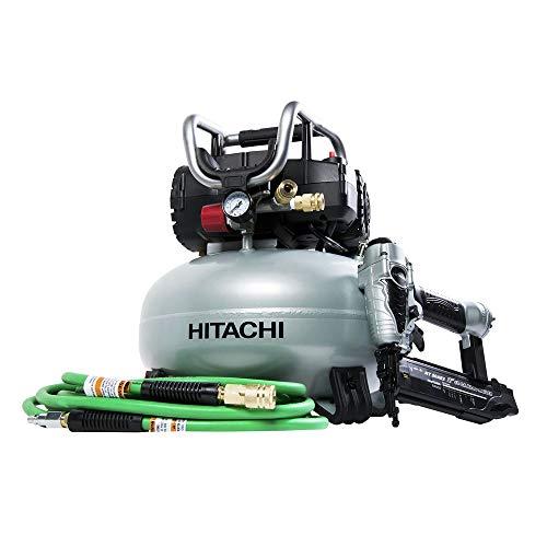 - Hitachi KNT50AB Hitachi KNT50AB 2 Pcs Finish Combo Kit (Renewed)