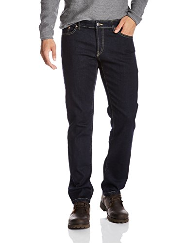 Quality Durables Co. Men's Stretch Cotton Slim-Fit Jean 36 x 33 Rinsed - Mens Quality
