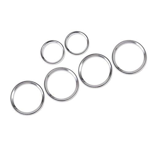 6pcs Chrome ABS porta laterale speaker Ring Trim per auto di Lrdssp YUZHONGTIAN Auto Trims Co. Ltd