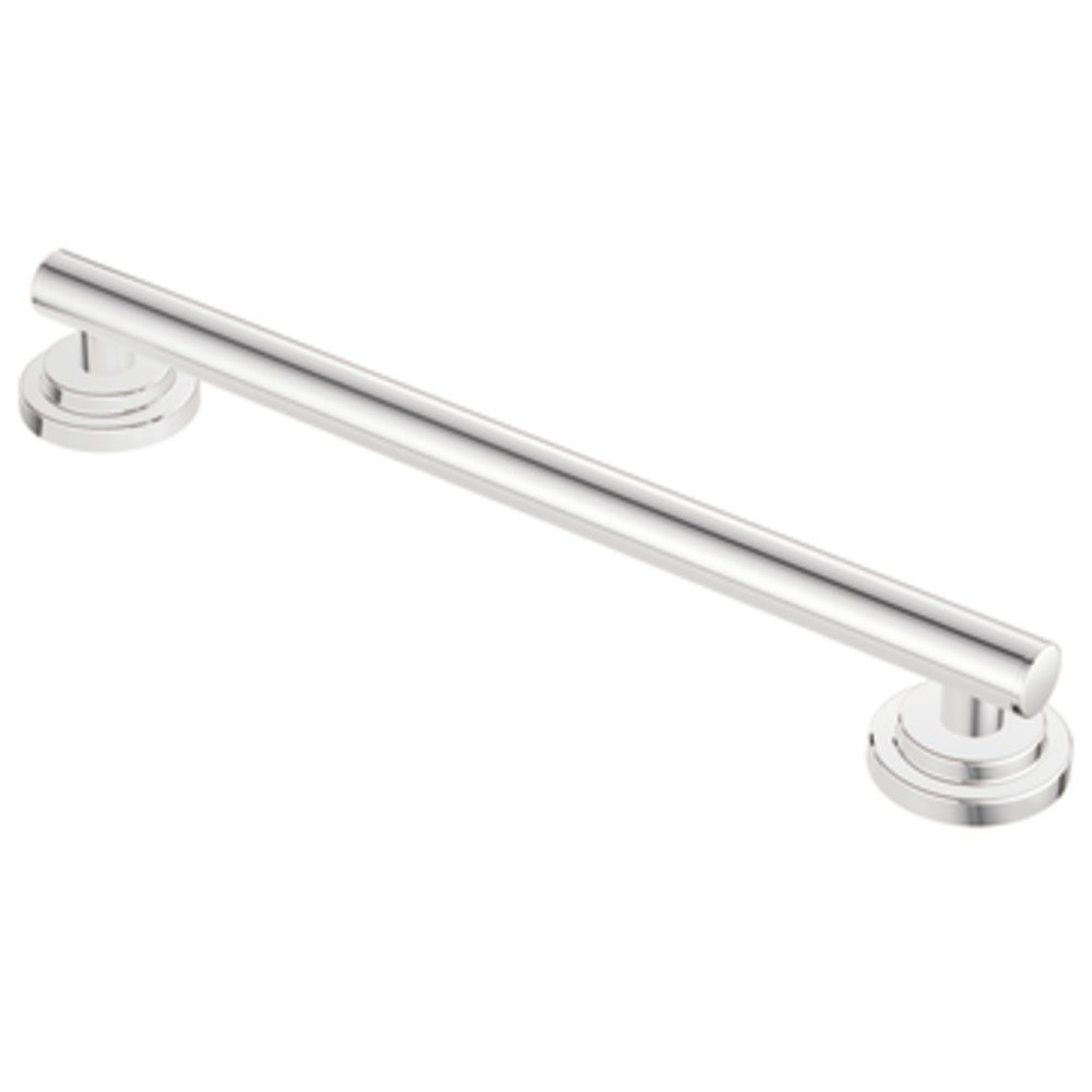 Moen YG0718CH Iso 18 Inch Designer Grab Bar, Chrome   Towel Bars    Amazon.com