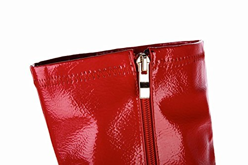 Rosso Donna Stivali Affascinante Boots Misssasa qHvFSwIH