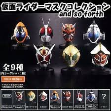 Rider mask collection and so forth BOX
